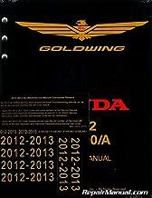 61MCA61 2012 ? 2013 Honda GL1800 GoldWing Motorcycle Service & Electrical Troubleshooting Manual