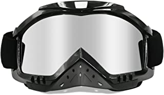 Dmeixs Motorcycle Goggles Dirt Bike Goggles Grip For...