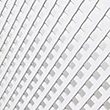 Celosia Pvc de 18 mm Panel Para Valla Jardin de 1 x 2 metros