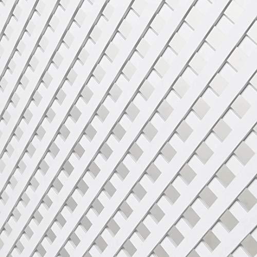 Catral Celosia PVC 18mm 0.8x1.8 Blanco