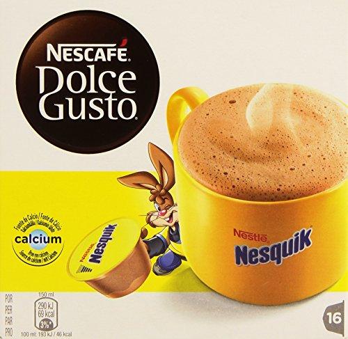 Nescafé Dolce Gusto - Nesquik - Pack 3 x 16 cápsulas