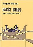 ボザ: イタリア風幻想曲/ルデュック社/クラリネットとピアノ