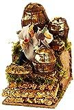 Pastore per Presepe in Movimento 14 cm x 9 cm Il Bevitore di Vino