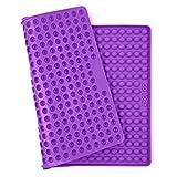 Collory Silikon Backmatte mit Noppen 40x28cm | 1cm Halbkugel Backform Hundekekse Hundeleckerlies | Backpapier | Backunterlage | Pralinenform | Hitzebeständig & Antihaftend | Lebensmittelecht