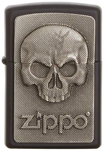 Zippo Herren Feuerzeug 2003546 Phantom Skull Emble Benzinfeuerzeug