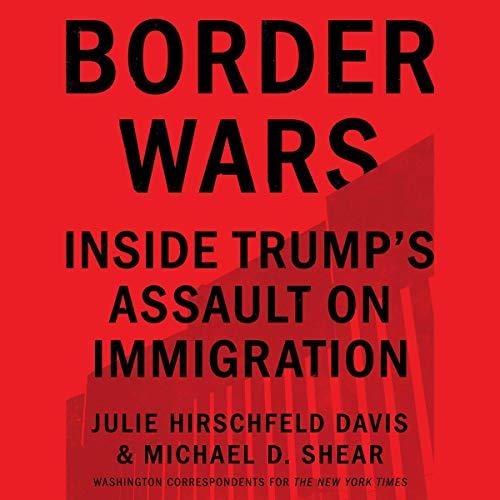 Border Wars audiobook cover art