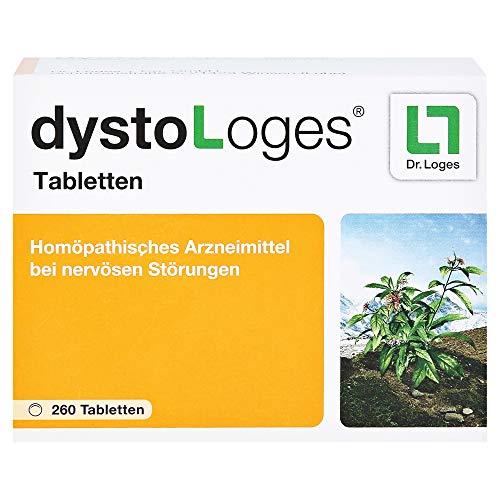 dystoLoges, 260 Tabletten, homöopathisches Arzneimittel - bei nervöser Unruhe und Schlafstörungen