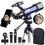 Best Telescopes - Telescope, 70mm HD Refractor 16X-200X Telescope for Kids Review