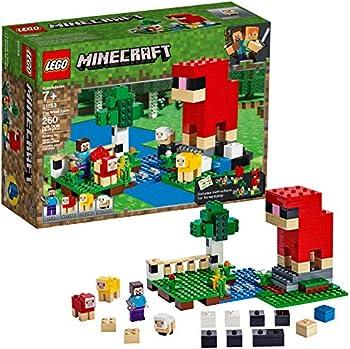 LEGO Minecraft The Wool Farm 21153 Building Kit
