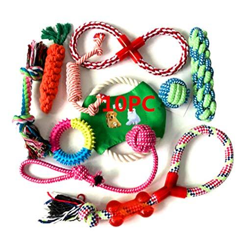 Welpenspielzeug Set,Hundespielzeug Unzerstörbar,Hunde Spielzeug Für Kleine Hunde,Welpen Zubehör,...