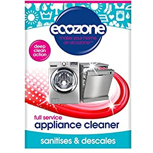 Ecozone Full Service Machine Cleaner   Deep Clean Limescale & Detergent   1 Use