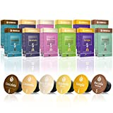 Gourmesso Flavour Box – 120 Nespresso kompatible Kaffeekapseln – 100% Fairtrade – 6...