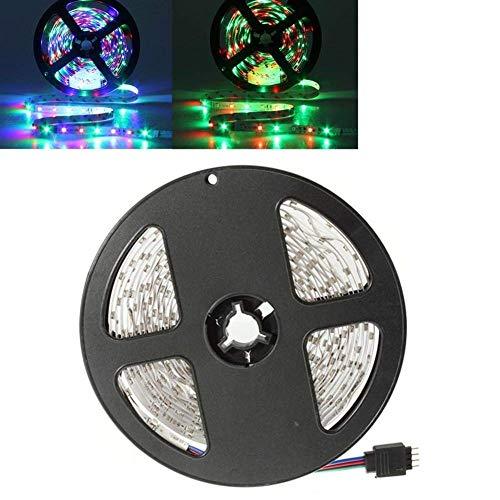 LKAIBIN 3X 5M 12V 300LEDs SMD 3528 Flexible RGB LED Strip Light Non-Waterproof LED Decorative Light bar Decorative Light Strip