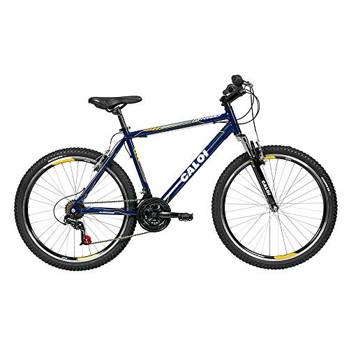 Bicicleta Lazer Caloi Commander Aro 26 Quadro Alumínio Azul