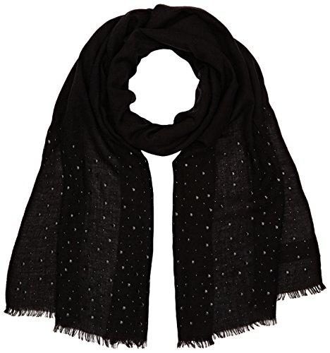 Bonita Damen Uni Schals, Schwarz (Deep Black 2501), One Size
