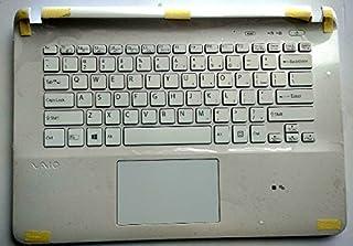 SZYJT New for Sony vaio Fit SVF15NE2E SVF152A29M SVF152A24T SVF152A29T SVF152100C SVF152A29M SVF15A1M2ES SVF152C29M SVF15NE2E SVF152A29M US Backlit Keyboard with plamrest Cover touchpad Black