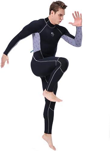 Hyh-t Combinaison de plongée siamoise, Combinaison de Prougeection Solaire intégrale de Prougeection Solaire, Combinaison de Natation Flottante Surf avec Prougeection UV, vêteHommests pour Hommes