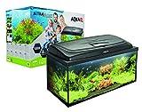 Aquael Acuario Set AQUA4START Incluye Cubierta, Filtro, Calentador de 60 x 30 x 30 cm (60 x 30 x 30 cm, Rectangular)