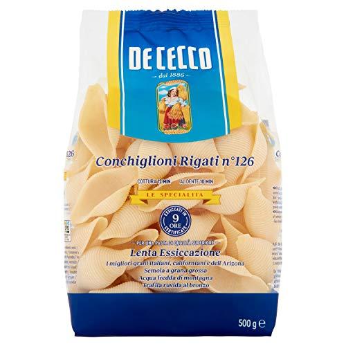 De Cecco Ital. Conchiglioni Rigati, 6er Pack (6 x 500 g)
