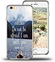 iPhone 6s Plus Case, iPhone 6 Plus Case Viwell TPU Soft Case Rubber Silicone Quotes Do Not be afraid I am With you
