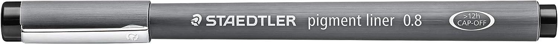 1,49€//Stück Staedtler Pigment Liner schwarz 6er Etui 0,05-0,8 mm Fineliner