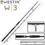 Westin W3 Powercast 251cm XXH 40-130g Spinnrute für Hecht, Zander, Waller Angelrute zum Wallerangeln,Zanderangeln & Hechtangeln, 2-teilige Rute, leichte Pilkrute
