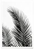 "JUNIQE® Palmen Poster 20x30cm - Design ""Palm Leaves 1"""