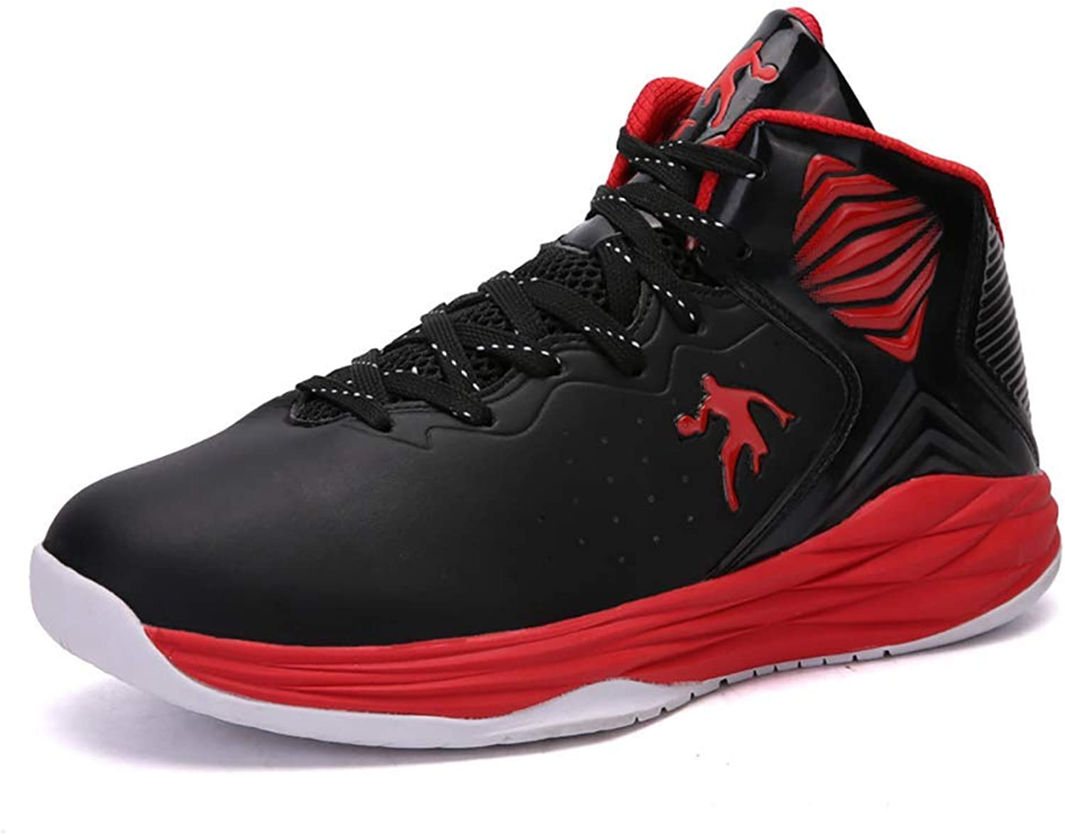 Basketball shoes Men's Basketball shoes Performance Push Up Basketball Boots Trainer High-top Fashion Sneakers Lightweight Breathable Running shoes