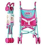 IMC Toys- Cry Babies Passeggino Giocattolo per Bambini, Colore Assortiti, Talla Unica, 99999