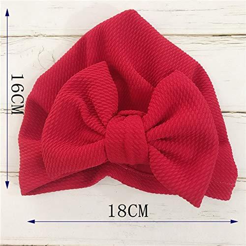 Sombrero de Flor para bebé, Turbante para niños pequeños, 6 m-8 m, Diademas para niños, Gorro para niños-a23