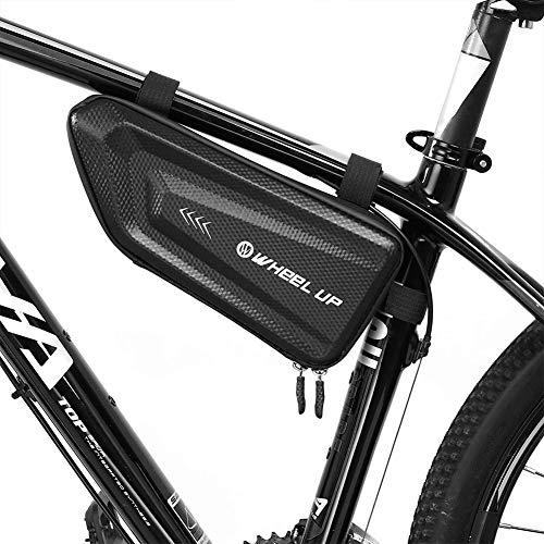 Ulofpc Bolsa de Bicicleta EVA Bolsa de triángulo Tubo Impermeable Colgando Bolsa...