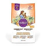 Halo Grain Free Natural Dry Cat Food Indoor...