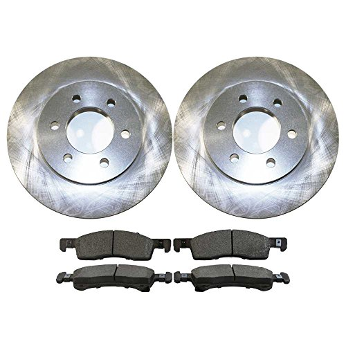 AutoShack PCDR6410164101934 Pair of 2 Front Driver and Passenger Side Disc Brake...