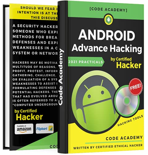 Android Hacking : Advance Practical Guide with Tools (Free Hacking Tools)