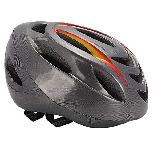 Nobranded Casco de Bicicleta Control Remoto Protector con Luz LED para Ciclismo de Seguridad