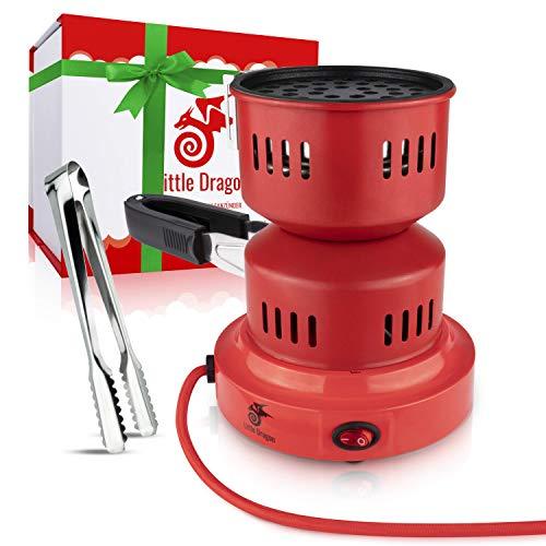 Shisha Kohleanzünder [HYDRA] langlebiger & schneller Kohleanzünder für Shisha Kohle mit transportierbarem Kohlekorb - 5 Min. Kohlegrill Shisha - Hochwertiges Shisha Zubehör + inkl. Geschenkbox