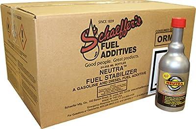 Schaeffer Manufacturing Co. 0131-021 Neutra Fuel Stabilizer, 12 oz (Pack of 24)