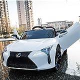 Daliya Lexus LC500 Kinderfahrzeug mit Bluetooth RC 2,4GHz Fernbedienung - 12V - Rc 2,4 Ghz...