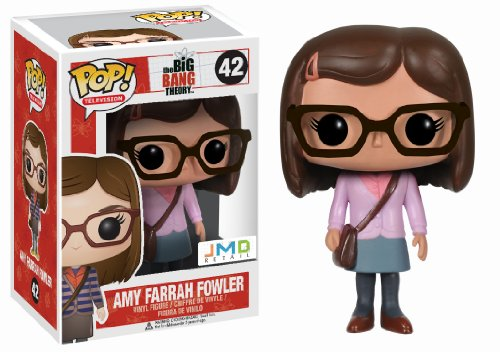 Funko - Pdf00004651 - Figurine Cinéma - The Big Bang Theory - Pop - Amy Farrah Fowler - Pink Amy Special
