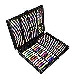 Rotuladores para Colorear Cepillo de la acuarela Conjunto de lápiz 168 Súper Lujo Pintura Caja de regalo grande Acuarela Oleo para pintar, colorear, caligrafía ( Color : Black , Size : Free size )
