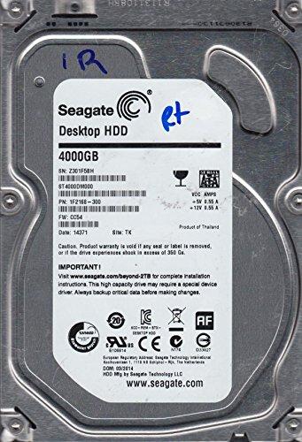 ST4000DM000, Z30, TK, PN 1F2168-300, FW CC54, Seagate 4TB SATA 3.5 Festplatte