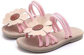 Candykidsキッズ スリッパ ガールズシューズ 子供 キッズサンダル 女の子 可愛い 花 履きやすい