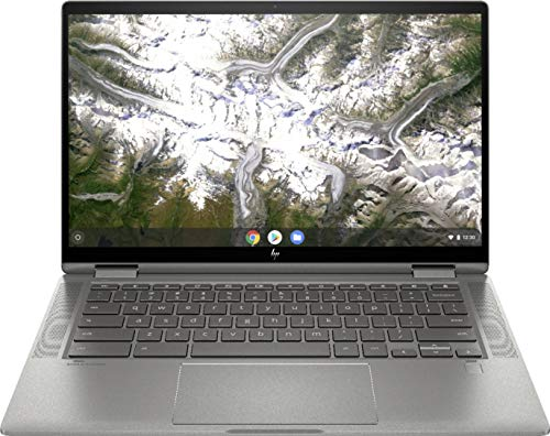 HP - 2-in-1 14' Touch-Screen Chromebook - Intel Core i3-8GB Memory - 64GB eMMC Flash Memory - Mineral Silver