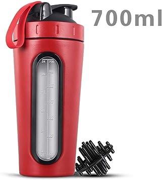 700 ml Proteína Shaker Bottle Acero Inoxidable Gimnasio ...
