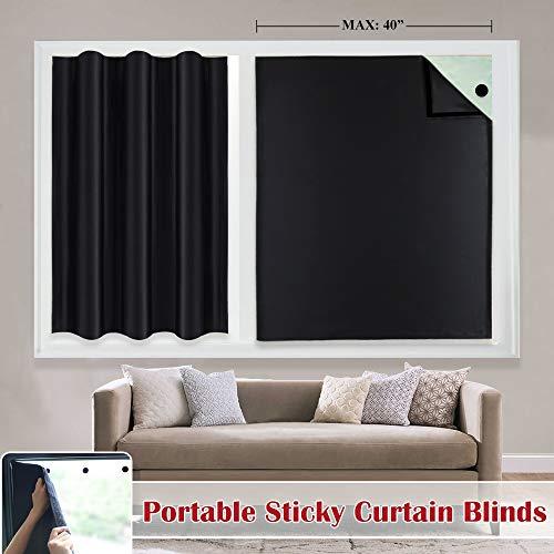 cortinas ventana velcro