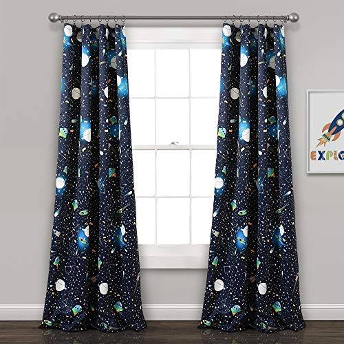 """Lush Decor Universe Curtains 
