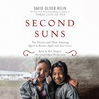 Second Suns     Two Doctors and Their Amazing Quest to Restore Sight and Save Lives              De :                                                                                                                                 David Oliver Relin                               Lu par :                                                                                                                                 Rob Shapiro                      Durée : 15 h et 21 min     Pas de notations     Global 0,0