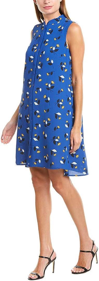 Anne Klein Women's Linen Button Down Dress
