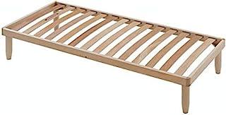 Evergreenweb – Sommier à lattes en bois – plateau manuel à double mouvement pour élever la tête et les pieds, orthopédique...