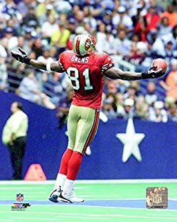 a0f399c8049 Terrell Owens San Francisco 49ers 2000 Action Photo (Size  8